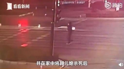 中國大陸,車禍(圖/翻攝自微博)