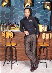 王陽明出席亞洲首間快閃酒店開幕,暢談寵妻秘訣。(記者邱榮吉/攝影)(開車不喝酒)