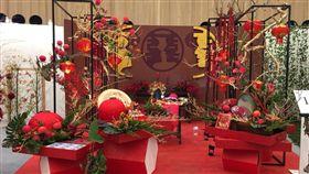 花舞館短期室內花卉競賽婚禮會場佈置大賽(台中市政府)