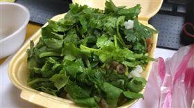 滷肉飯,香菜,接受,爆廢公社 圖/翻攝自臉書爆廢公社