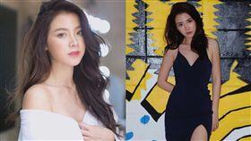 泰國女星白芬被爆裸照,高EQ反擊。(圖/翻攝自baifernbah IG)