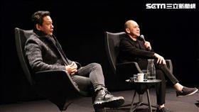 蔡明亮導演與李康生至阿姆斯特丹參與VR電影《家在蘭若寺》展映活動。(圖/HTC提供)