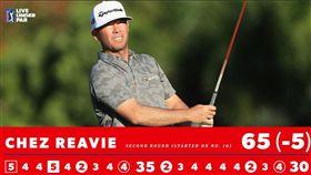 ▲里維單回合3老鷹的成績,絕對會在PGA史上留名。(圖/翻攝自PGATOUR Twitter)