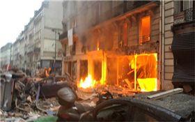 巴黎,爆炸,氣爆 圖/翻攝自推特
