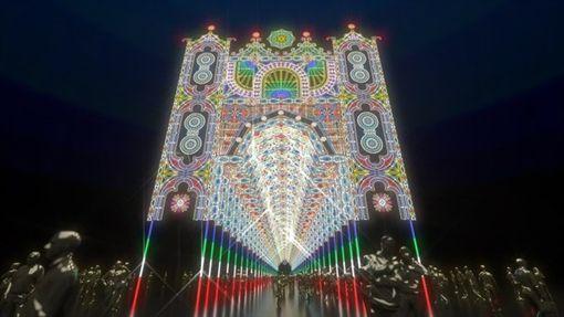 全聯X義大利國際光雕展