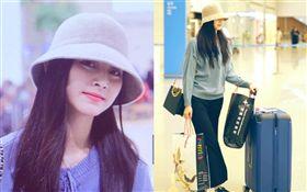 「TWICE」周子瑜假期結束,返回首爾。(臉書)