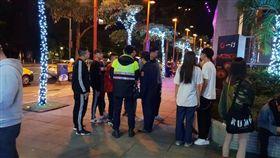 台北,信義區,夜店,皮帶刀,衝突(圖/翻攝畫面)