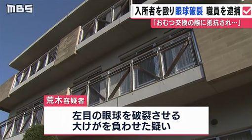 日本,大阪,看護,失智,尿布,暴力/翻攝自《mbs:毎日放送》