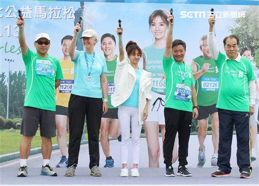 蔡依林(Jolin)出席「2019渣打公益馬拉松」活動 圖/記者林士傑攝影