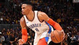 NBA/終結腳踝!威少晃趴貝里納利 NBA,奧克拉荷馬雷霆,Russell Westbrook 翻攝自推特