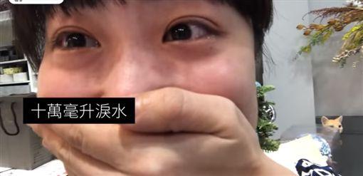 同志哥假換禮物真求婚 妹妹目睹淚崩(圖/翻攝自Q Nana YouTube)