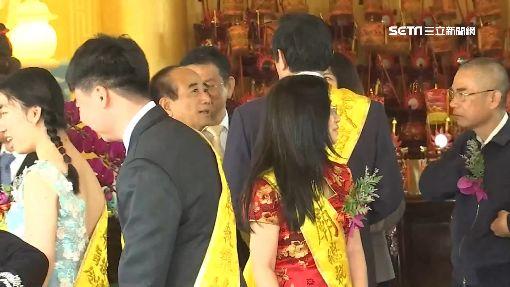 馬王爭大位?韓國瑜天壇祭拜3人同框