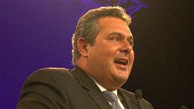 國會大選在即 希臘防長請辭抗議馬其頓更名協議 克門諾斯Panos Kammenos 圖/翻攝自維基百科