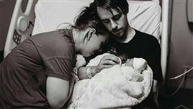器官,無腦,夭折,疾病,生產,引產,捐贈,移植,嬰兒,出生,器捐 圖/翻攝自臉書