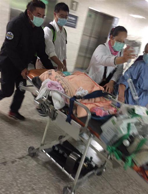 花蓮嬰罹腦膜炎轉院台大 母求禮讓救護車/花蓮同鄉會臉書