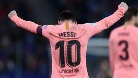 足球/梅西轟4百西甲進球 數據扯爆 足球,西甲,巴塞隆納,Lionel Messi 翻攝自推特