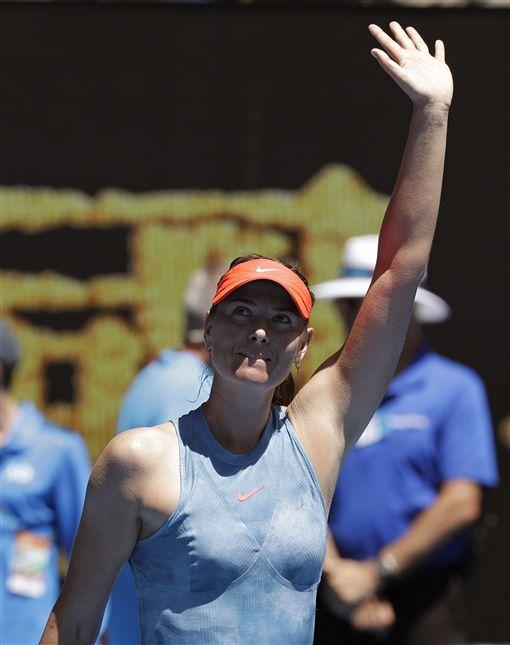 ▲莎拉波娃是2008年澳網女單冠軍。(圖/美聯社/達志影像)