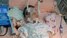 花蓮一位5個月大男嬰因腦膜炎引發敗血症緊急轉送台北台大醫院。(圖/翻攝自《花蓮人》臉書)