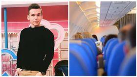 湯姆士、機艙 合成圖/翻攝自臉書、資料照