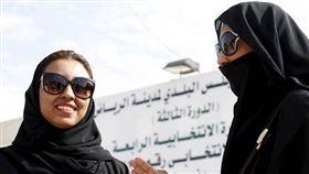 (圖/翻攝自推特)沙烏地阿拉伯,沙國,女性,女權