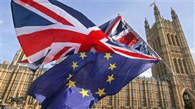 (圖/翻攝自推特)英國,歐盟,脫歐