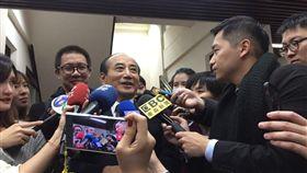 ▲前立法院長王金平。(圖/記者林仕祥攝)