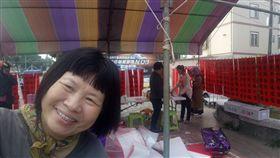 議員蔣月惠賣春聯,卻遭到民眾來電抗議。(圖/翻攝自臉書)