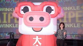 學姊黃瀞瑩為台北燈節代言