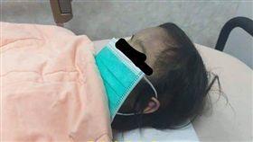 台南,虐童,刀傷,郭綜合醫院,家暴,女童(圖/翻攝自黑色豪門企業臉書)