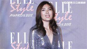 ELLE Style Awards風格人物大賞Youtuber獎理科太太。(記者林士傑/攝影)