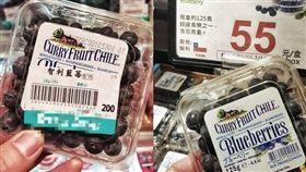 網友發現百貨超市、量販同一盒藍莓竟然價差145元