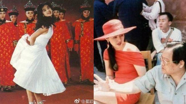 王祖賢仙女舊照曝光…背後宮女竟是她
