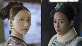 戲劇中的愉妃雖非乾隆最愛,但歷史上的她卻跟乾隆最久。(圖/翻攝自微博)