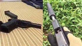 陸生來台Youtube展現火力賣手槍/翻攝自YouTube