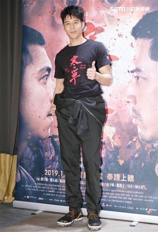 胡宇威出席《寒單》試映會(攝影/林士傑)