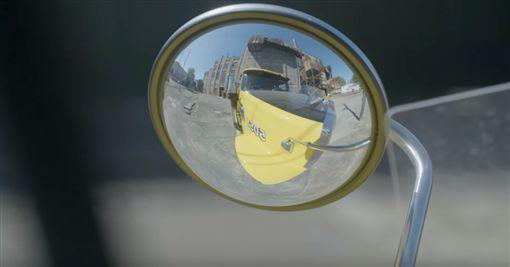 ▲大車視野死角(圖/翻攝Youtube)