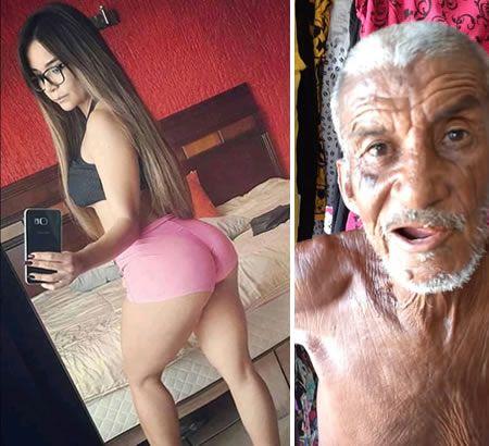 巴西74歲老翁中彩券 與18歲辣妹親熱被悶死(圖/翻攝自topfivetv)