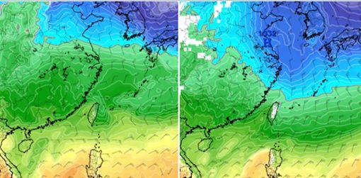 迎風面有雨 北台濕冷 中南部氣溫略升