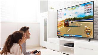 瘋電玩! 遊戲專用4K護眼大電視