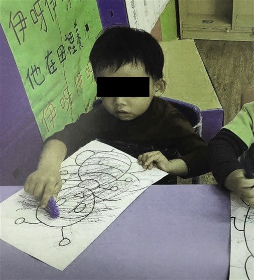 台北,膠帶綑綁,幼童,幼兒園,司改會,人本基金會,法扶。翻攝畫面