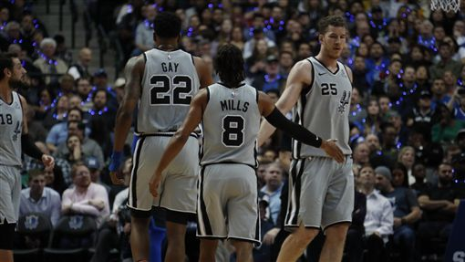 NBA馬刺(圖/翻攝自馬刺官方推特)