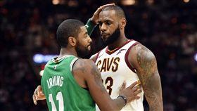 NBA/當年不懂事 厄文向詹皇道歉 NBA,克里夫蘭騎士,LeBron James,Kyrie Irving 翻攝自推特