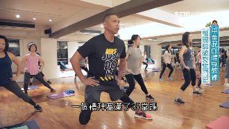 台美混血健身教練 椎間盤破裂奮鬥史