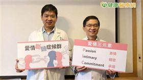 楊聰財醫師(圖右)及劉誠崇醫師(圖左)皆表示依循PIC三大愛情心法找到真愛非難事。