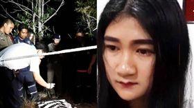 一哭鬧就不會停!小媽媽失控打死2歲女兒丟池塘 圖/翻攝泰國網臉書
