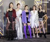 伊林娛樂時尚尾牙派對,張安琪、王孝懷、李培毓、劉美辰、紀艾希。(記者林士傑/攝影)