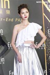 伊林娛樂時尚尾牙派對,女模王孝懷。(記者林士傑/攝影)