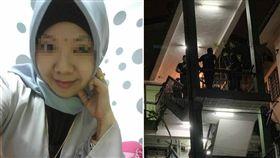 印尼一名33歲單親媽媽米拉,在馬來西亞從事清潔工,日前她下班回家後,遭搶匪闖入家中,結果慘被性侵、勒斃,全身赤裸陳屍床上。當地警方獲報後,立刻封鎖現場,目前還在蒐證調查中。(圖/翻攝自詩華日報)