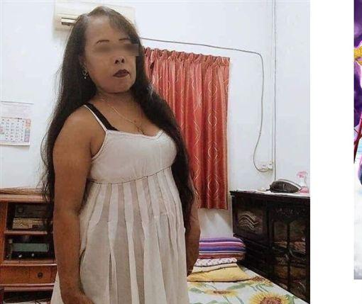 自信奶大的女人最美麗,月男熟女意外成為網紅(圖/翻攝自A Family網站)