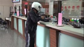 彰化芳苑警分局台中銀行防搶演練/翻攝畫面